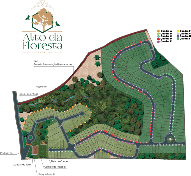 Planta Humanizada Alto da Floresta
